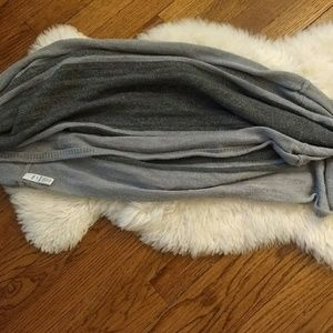 Gap Infinity Scarf with Metallic Threads